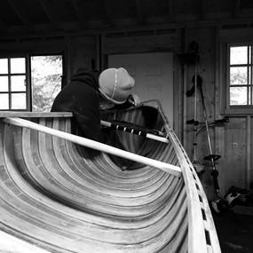 Fal Crew canoe work