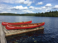 Signature Red Canoes