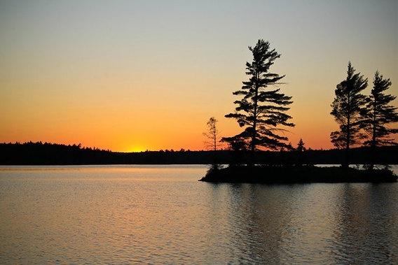 Algonquin sunsets