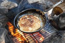 pancakes for breakfast - yum!