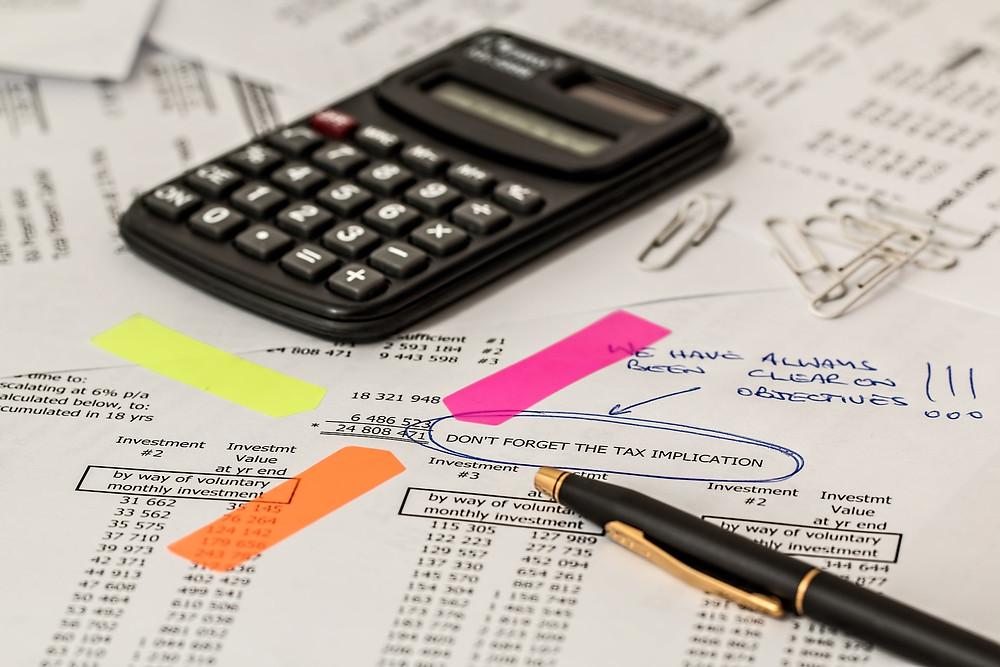 Le tasse nel regime forfettario 2019