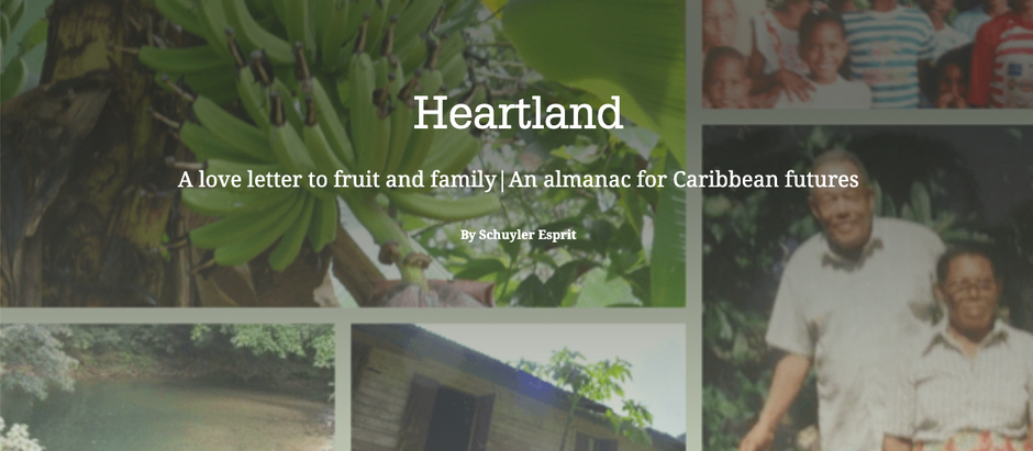 Heartland: A love letter to fruit & family | An almanac for Caribbean futures by Schuyler Esprit