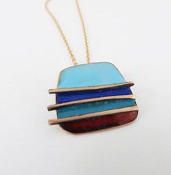 4 colour pendant