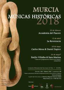 MURCIA MÚSICAS HISTÓRICAS 2018