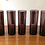 "Thumbnail: Juego de vasos vintage de cristal púrpura ""Vifsa"""