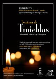 Lecciones de Tinieblas - Música de J. S. Bach y Couperin.