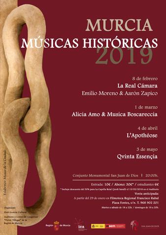 Ciclo Murcia Músicas Históricas 2019