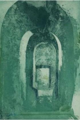 """Grabado """"Suite Villa Adriana nº 3"""" de Pedro Cano"""