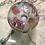 Thumbnail: Lámpara vintage globo de cristal soplado años 70 pieza única