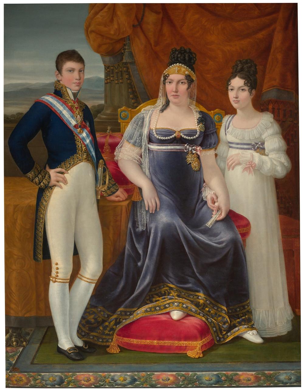 La reina de Etruria y sus hijos APARICIO E INGLADA, JOSÉ