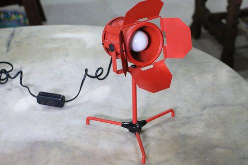 Lámpara flexo foco de cine