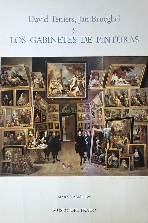 """Cartel original """"de la exposición """"David Teniers, Jan Brueghel"""""""
