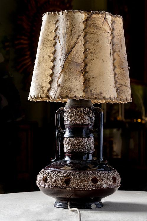 Lámpara alemana estilo brutalista