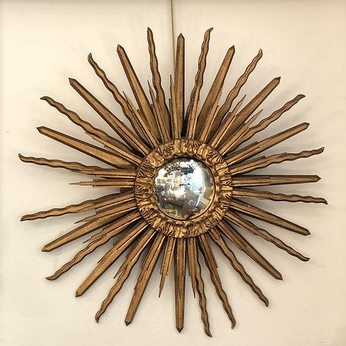 Sol de espejo de madera