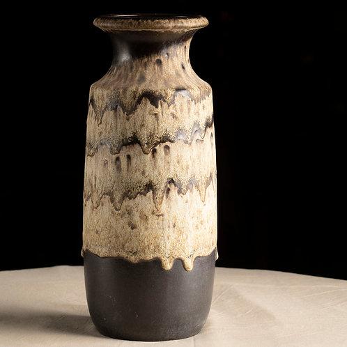 """Jarrón de diseño alemán """"West Germany Pottery"""""""