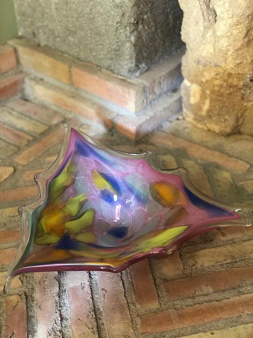 Centro de mesa de diseño cristal de Murano