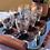 Thumbnail: Bandeja italiana años 50 madera y cristal