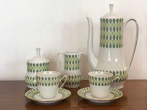 Juego de café/té vintage años 60