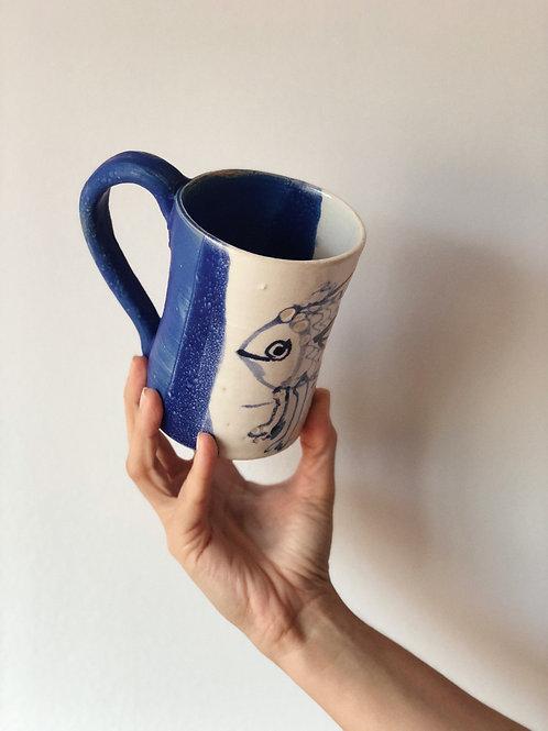 Taza cerámica andaluza. Pieza única
