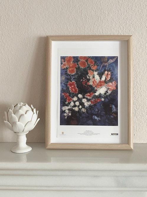 "Lámina ""The Lovers"" de Marc Chagall"