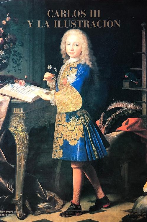 """Cartel original de la exposición """"Carlos III y la ilustración"""""""