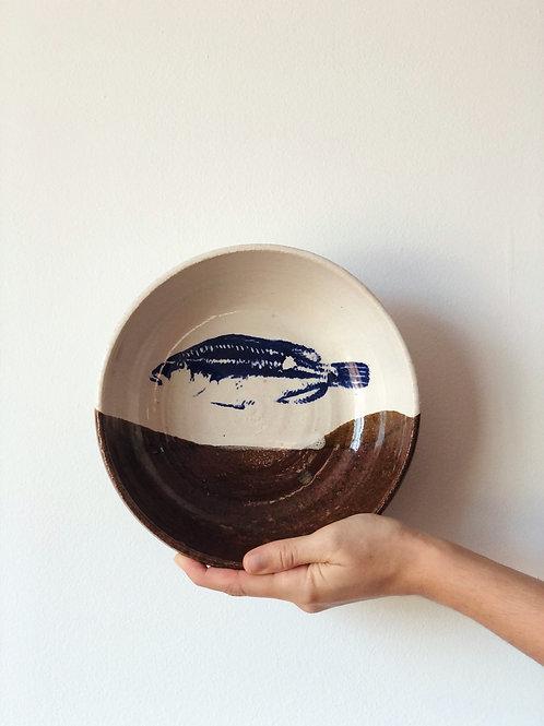 Bol cerámica andaluza. Pieza única