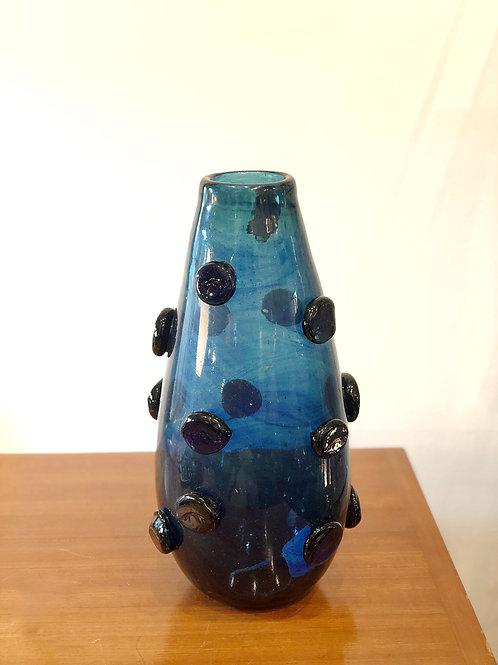 Jarrón de cristal de Murano. Pieza única.