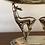 Thumbnail: Antiguo centro de mesa/frutero alemán con figuras de animales