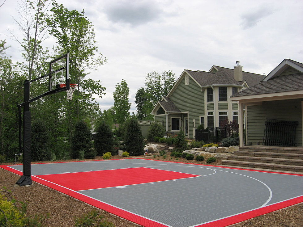 Sport court ohio for Sport courts
