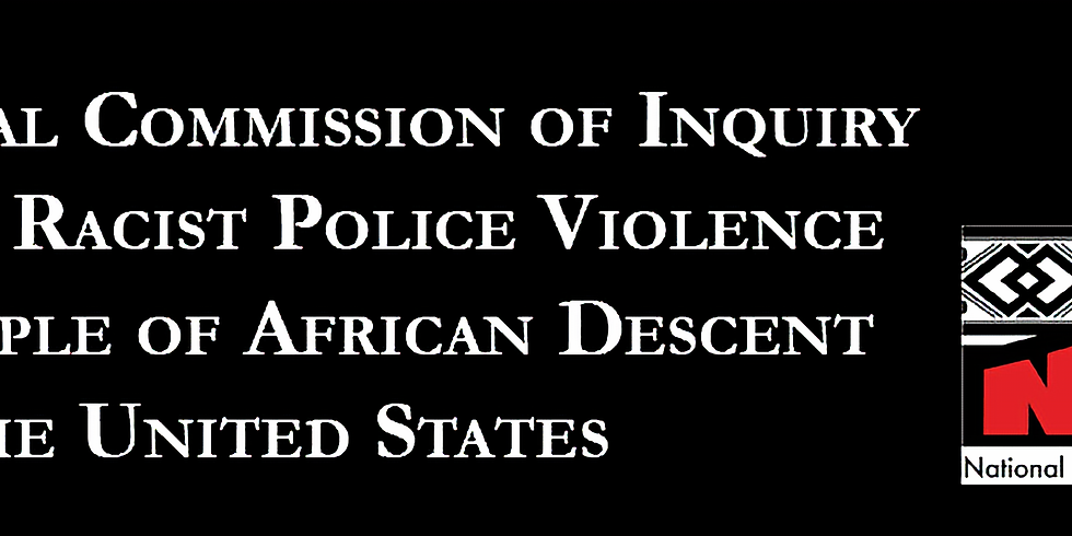 International Commission of Inquiry on Systemic Racist Police Violence Hearing (1)