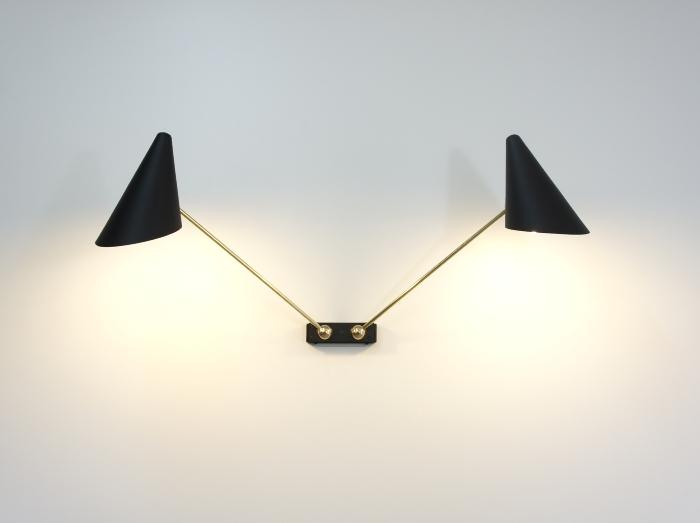 atelier moderniste lampe design sur mesure applique design clairage tableau. Black Bedroom Furniture Sets. Home Design Ideas