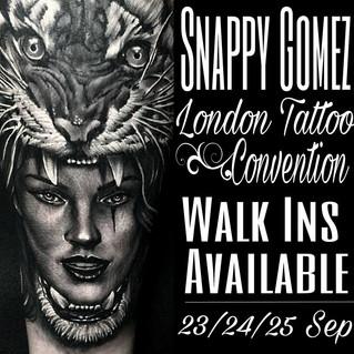 LONDON TATTOO CONVENTION, TOBACCO DOCK 2016