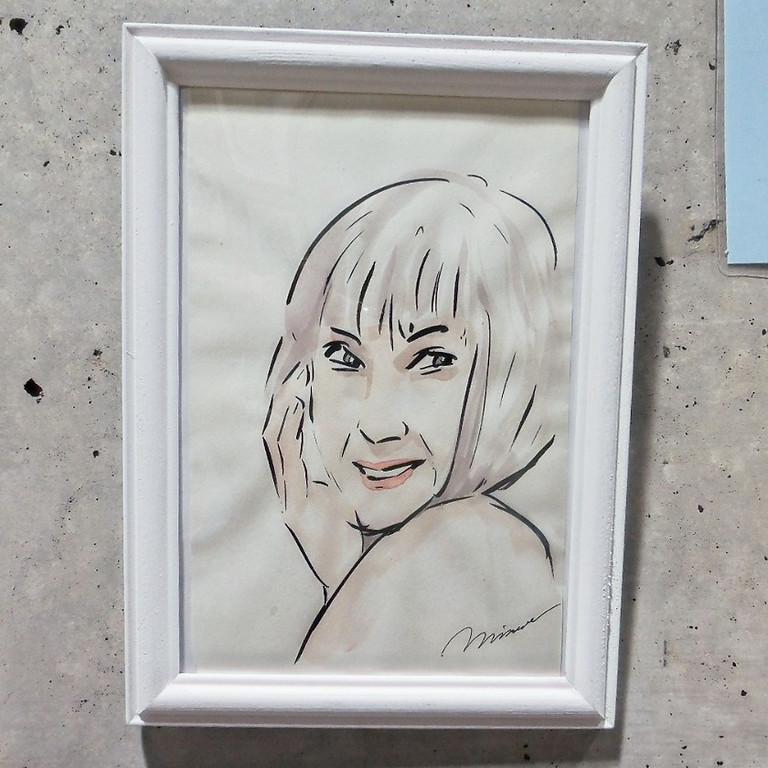 第2回 Minoru Masakuni「一筆アート展」