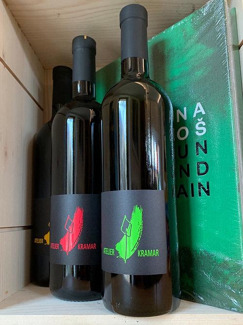 Book + 3 wines from Ateleir Kramar