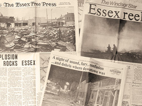 ECHRS remembers 1980 explosion virtually