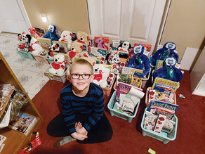 Essex Beaver collecting donations to create care baskets for residents of local nursing homes
