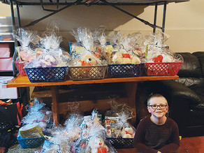 North Star project creates over 130 care baskets for local nursing homes