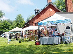 First Colchester Village Country Market held to benefit 1881 schoolhouse