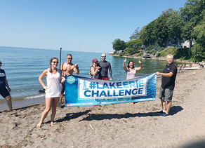 Relay makes splash in raising awareness, funds for the health of Lake Erie