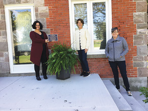 Kingsville's Heritage Committee recognizes the designation of Cottam's first home