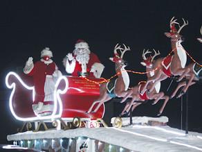 """Kingsville's """"Reverse"""" Santa Claus Parade receives incredible turnout"""