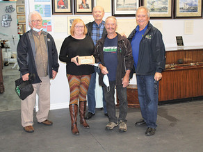 Historical Research Partners recognize Maidstone Bicentennial Museum volunteers for dedication