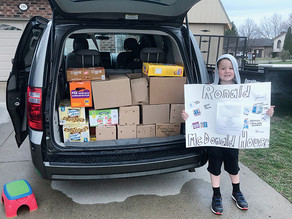 North Star Badge earner hosts collection for Ronald McDonald House