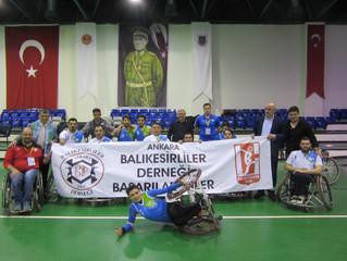 Balıkesir BB Tekerlekli Sandalye Basketbol Takımını Galibiyetle Uğurladık