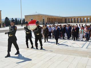 6 Eylül Anıtkabir Şükran Çelengi Töreni