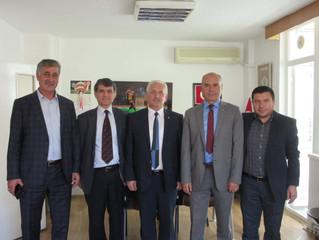 Savaştepe Belediye Başkanı Derneğimizi ziyaret etti