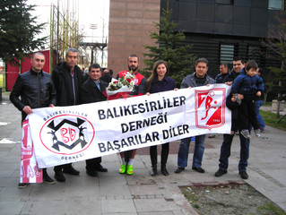 Balkes Ankara'daydı