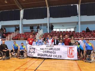 Tekerlekli Sandalye Basketbol Takımı'nı Yanlız Bırakmadık