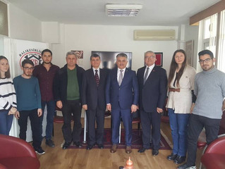 Valimiz Ersin Yazıcı Derneğimizi ziyaret etti...