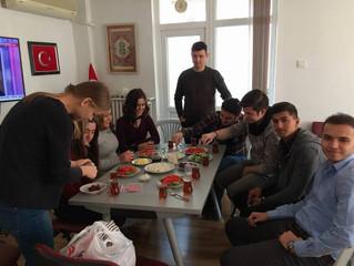 Öğrencilerimiz Derneğimizde kahvaltıda buluştu